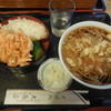 大島屋(村上) - 料理写真:たぬきそば定食¥850-
