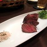 京都豆八 - ぶぶ豆腐とステーキランチ¥2800(③和牛一口ステーキ)