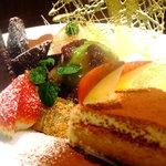 きんぎょ - 料理写真:デザート目当ての方も多い!?