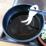 麺工房かたくり - うどんのつゆ