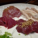 肉人 - 刺4種盛合せ
