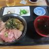 たきわ - 料理写真:マグロと平目漬け丼(上) 1000円★