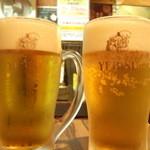 ミスターデンジャー - エビスビール(生)¥350※訪問2回目