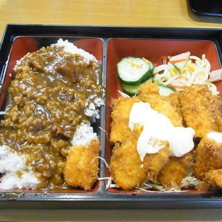 きっちん モト - 料理写真:イカフライランチ(カレーがけ)850円