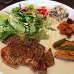 イタリア食堂 バール エノテカ - 豚肉のソテーランチ