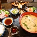 まるさん松本 - のどぐろ定食