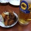 鮨居酒屋 やしま - 料理写真:ビールとお通し