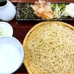 瀧乃家 - 辛味大根おろしそば950円 大盛り+180円
