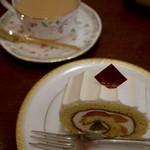 オレンジシャリマティ - ケーキセット