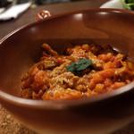 オステリア カルドゥッチョ - やや歯応えのある、優しい味が独特で美味しい!