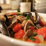 オステリア カルドゥッチョ - アクアパッツァ…優しい味でスープまで飲めます!