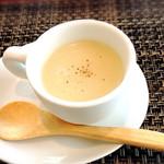 グリル葵 - ランチいちばん最初のスープ