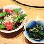 菅乃屋 - サラダ・小鉢