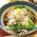 稲にわうどん 割烹 日本橋 古都里 - 豚しゃぶおろしうどん