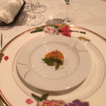 アルファーロ - 前菜はフォアグラのマンゴーソース