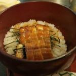 大松 - どんぶり飯ぐらいの量です