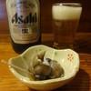 うら島 - 料理写真:スーパードライ中瓶とお通し