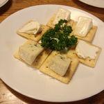 ピッコリーニ - チーズ盛り合わせ1260円