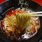 らーめん燕 - 細麺ストレート
