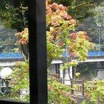 cafe-dining Kan-KURA - 座席から見える景色。