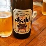 金陵 - 瓶ビールは中華街仕様