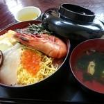 味政 - 海鮮丼 大 1400円