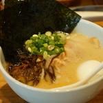 博多 一風堂 - 料理写真:白丸スペシャル、ばりかた