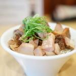 Japanese Soba Noodles 蔦 - チャーシュー飯