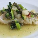 SCACCOMATTO - ランチのメインコース(2300円)の甘鯛の蒸し煮