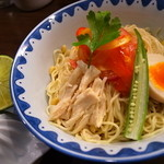 ガンコンヌードル - 料理写真:フレッシュライムの冷やし中華