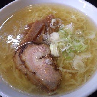 麺や 由布 - 料理写真:塩ラーメン:650円