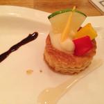 ビストロ釧路 - 名前は忘れましたが、美味しいパイ料理でした