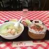 香港食館 - 料理写真:海鮮汁ソバセットにしました