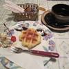 ももの木 - 料理写真:「ミニワッフルセット」です。