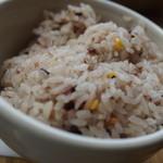 ナッツカフェ トリップ - 雑穀米