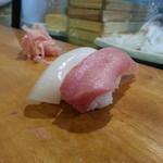 小政寿司 - 料理写真:にぎり序章。