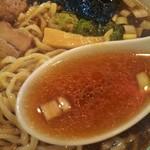 神王 - 醤油味スープ