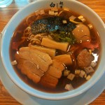 神王 - 味玉ラーメン(870円)醤油味