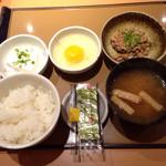 やよい軒  - 納豆朝食。¥350