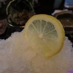 侘助 - かき氷 生レモン