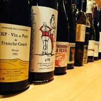 日本酒、ビオワインを多数ご用意