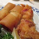 重慶飯店 - 春巻き