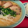 豚福 - 料理写真:2014.8 ラーメンとおにぎり
