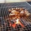 月山 - 料理写真:地鶏炭火焼