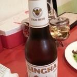 チャオチャオバンブー - シンハービールで乾杯! 2014.8