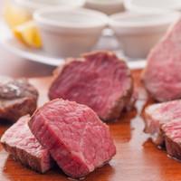 特選!!お肉5種類の盛り合わせ