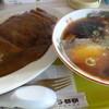 みつい食堂 - 料理写真:カツカレー&ミニラーメンセット
