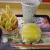 ロッテリア - 料理写真:チーズバーガーMセット