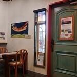 cafe KO-BA - 入口