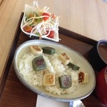 FUMUROYA CAFE  - カレーとライスは別盛りです